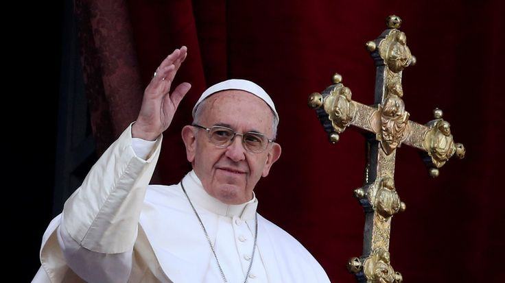 """Papst Franziskus fordert, dass die Waffen in Syrien """"ewig schweigen"""""""