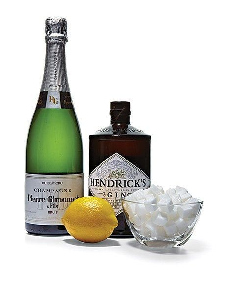 Classic French 75 Cocktail Recipe