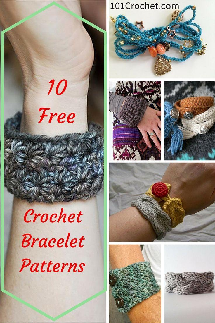 29 best Free Crochet Jewelry Patterns images on Pinterest | Crochet ...