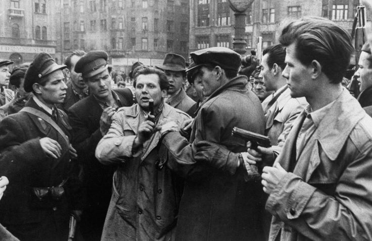 Hungary. Photos From the Hungarian Revolution, Budapest, 1956 // Michael Rugier. | LIFE.com