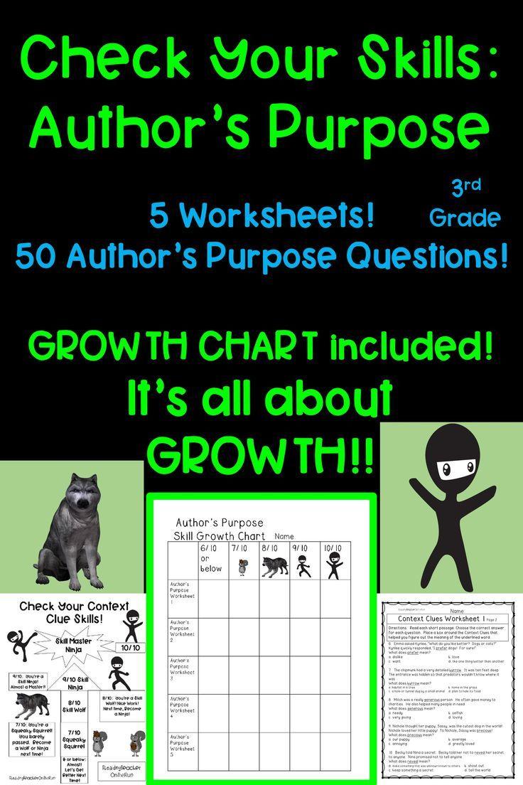 medium resolution of Author's Purpose! Growth Mindset! 3rd Grade!   Authors purpose