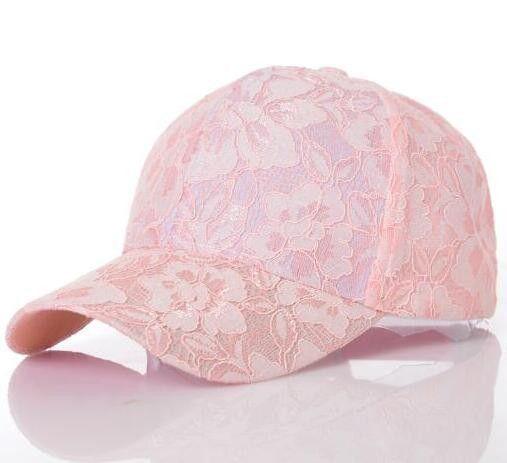 Women's Baseball Caps Lace Sun Hats Breathable Mesh #hat Gorras Summer Cap For Women Snapback Casquette #TopHatsForWomen #HatsForWomenCaps