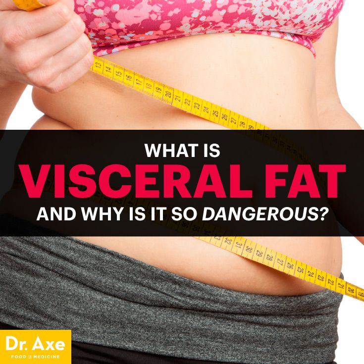 Visceral fat - Dr. Axe http://www.draxe.com #health #holistic #natural