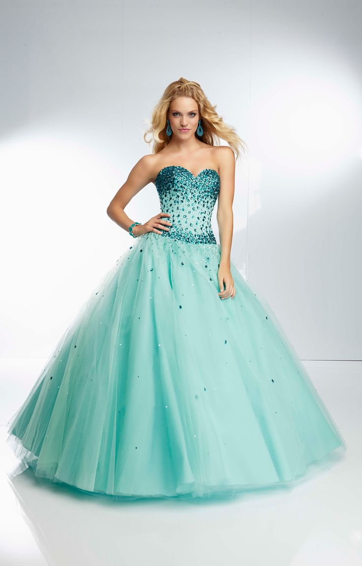 214 best Ball Gown Prom Dresses images on Pinterest | Prom dresses ...