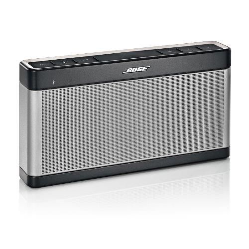 Bose SoundLink Bluetooth speaker III - Speaker - for portable use - wireless - silver