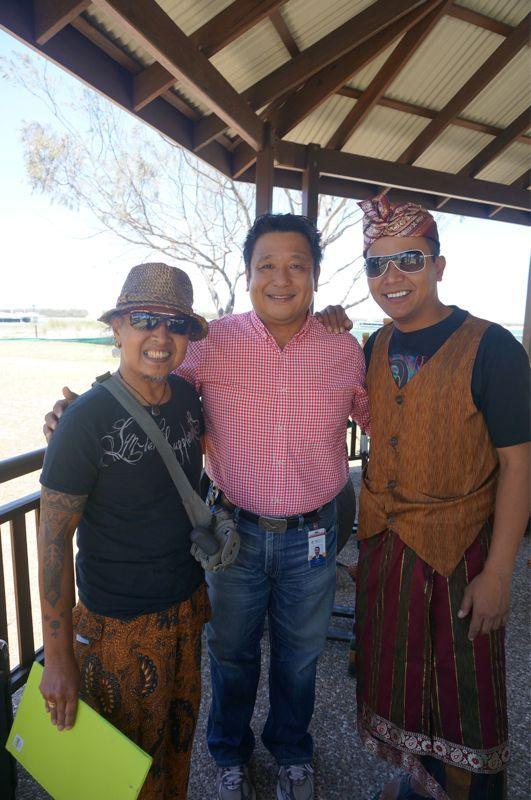 インドネシアの友人ワイアンと一緒に。素敵な人達だよね。
