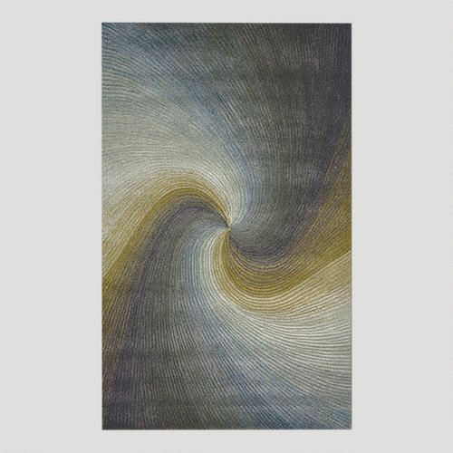 This would be gorgeous in my master bedroom or bath. River Waves Rug