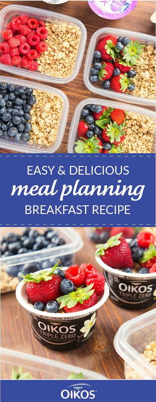 Spend less time in the kitchen and more time enjoying the flavors of summer before your kids head back to school with help from this Easy and Delicious Meal Planning Breakfast Recipe. Keep a variety of fun flavors of Dannon® Oikos® Single Serve Triple Zero Greek Yogurt from Walmart, fresh fruit, and granola stocked in your kitchen to be ready to create the perfect quick, easy, and tasty morning dish.