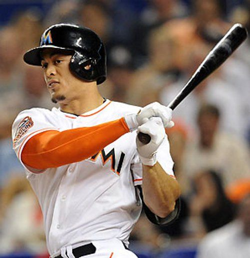Giancarlo Stanton was hit in the face by a pitch and suffered facial fractures. #MiamiMarlins #baseball