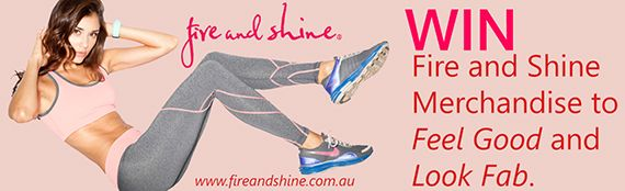 WIN Fire and Shine Merchandise | Feel Good and Look Fab!