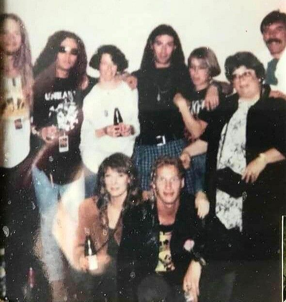 Alice In Chains With Sean Kinney S Family In 2020 Alice In