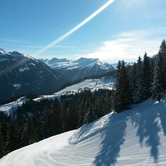 Gargellen - wintersport dorp met 221 km pistes in Oostenrijk