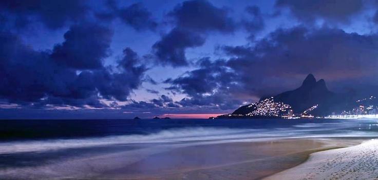 Posto 9, Ipanema, Rio de Janeiro, Brazil.