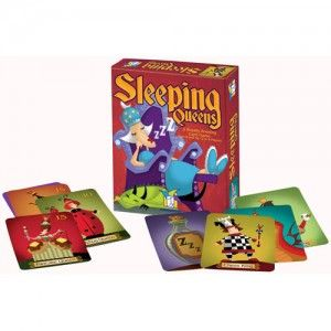Sleeping Queens card game  $13.49 at Scholars Choice (ages 6+)