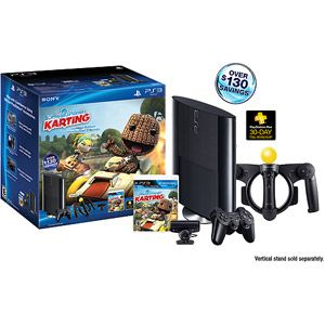 PlayStation 3 250GB Little Big Planet Karting Move Wal-Mart Exclusive Bundle