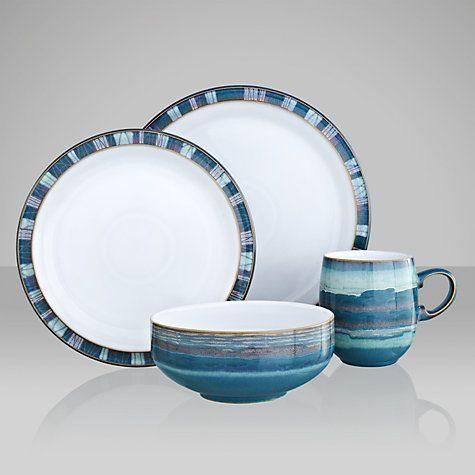 Buy Denby Azure Coast Tableware Online at johnlewis.com