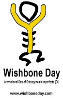 Osteogenesis imperfecta  awareness day    May 6  Wear yellow.
