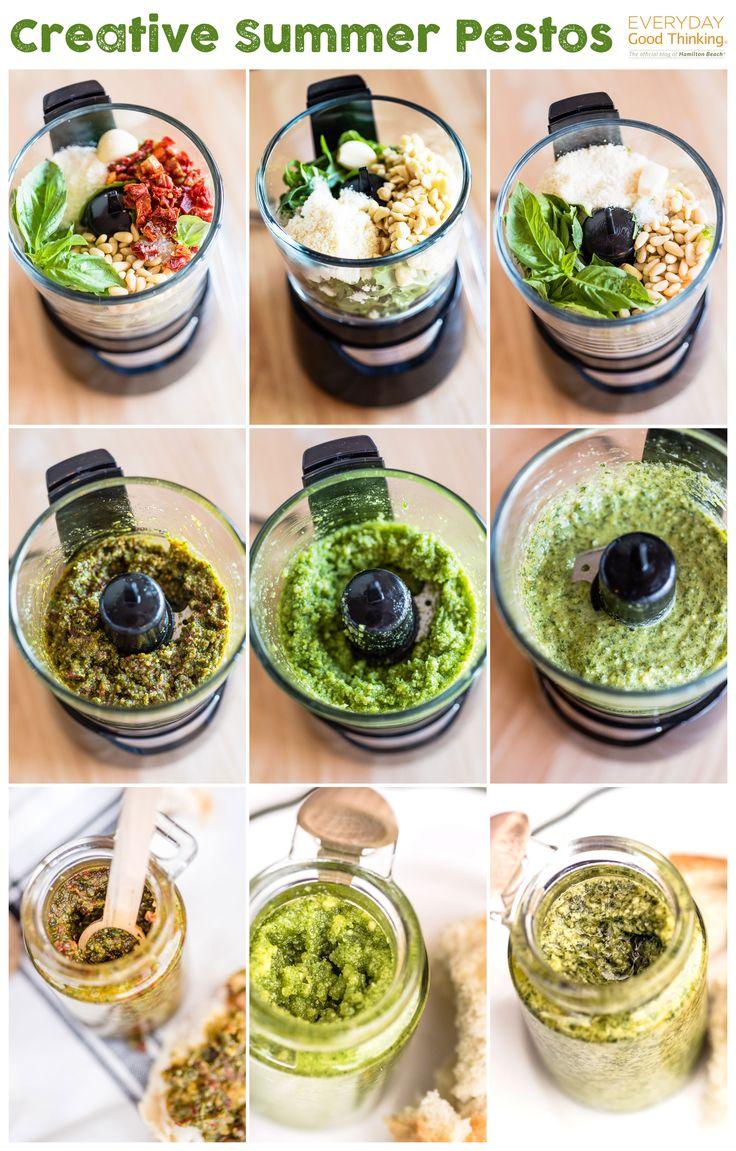 How to Make & Use Creative Summer Pestos