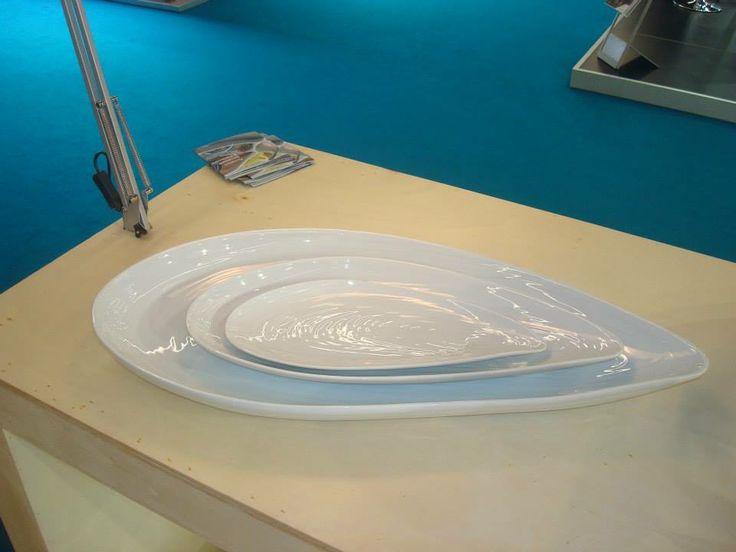 Porcelain mussels | by Carlos Serralha Verbano Gourmet Showroom Frnkfurt Feb 2014