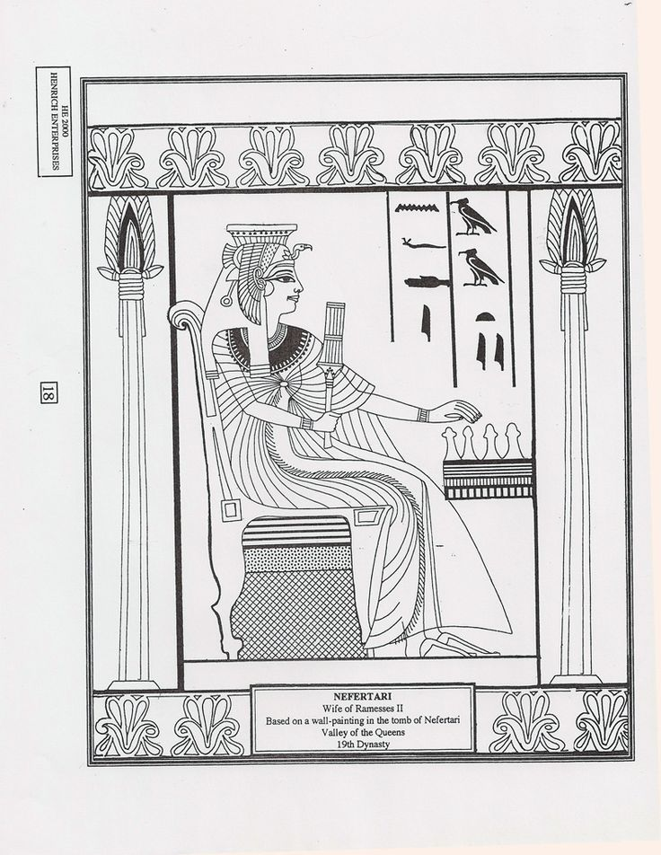hieroglyphics coloring pages - 17 best images about egyptian painting on pinterest
