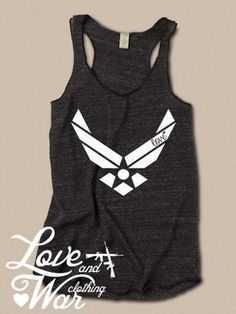 Air Force tank top; Air Force Wing Mom