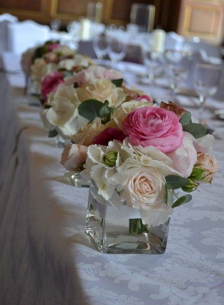 flower arranging | Inspiration for Table Flower Arrangements