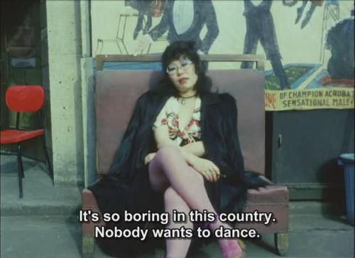 nobody wants to dance