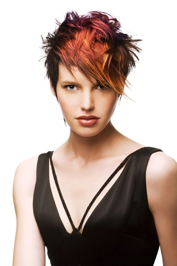 Trendy Short Punk Hairstyles (With images)   Short punk ...