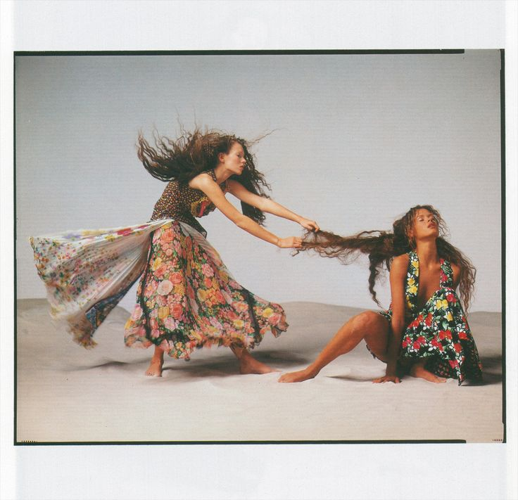 Gianni Versace ss 1993 by Richard Avedon