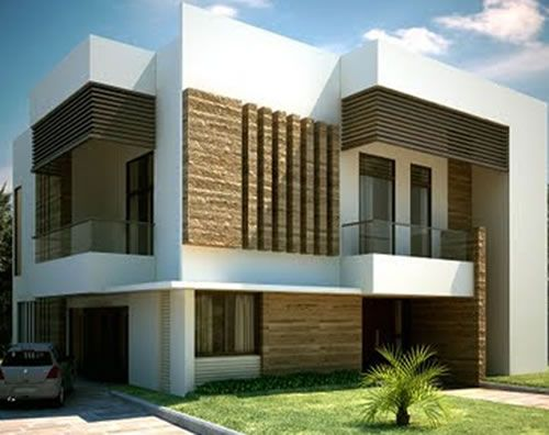 New Home Designs Latest.: Ultra Modern Homes Designs Exterior Front Views. Part 45