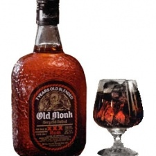 Old Monk Rum is dark rum aged and blended seven years in India. The rum is vatted and aged with whole vanilla and a number of other ingredients to create a heavily spiced flavor.
