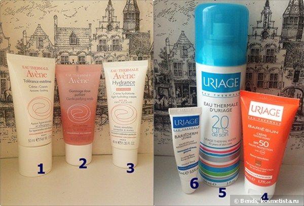 Термальные воды для красоты: Avene и Uriage — Отзывы о косметике — Косметиста