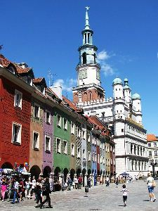#Poznan Market Square #Poland