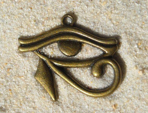Occhio di Horus  collana di antico Egitto di laracroftcosplay