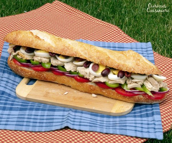 Pan Bagnat - French Tuna Baguette