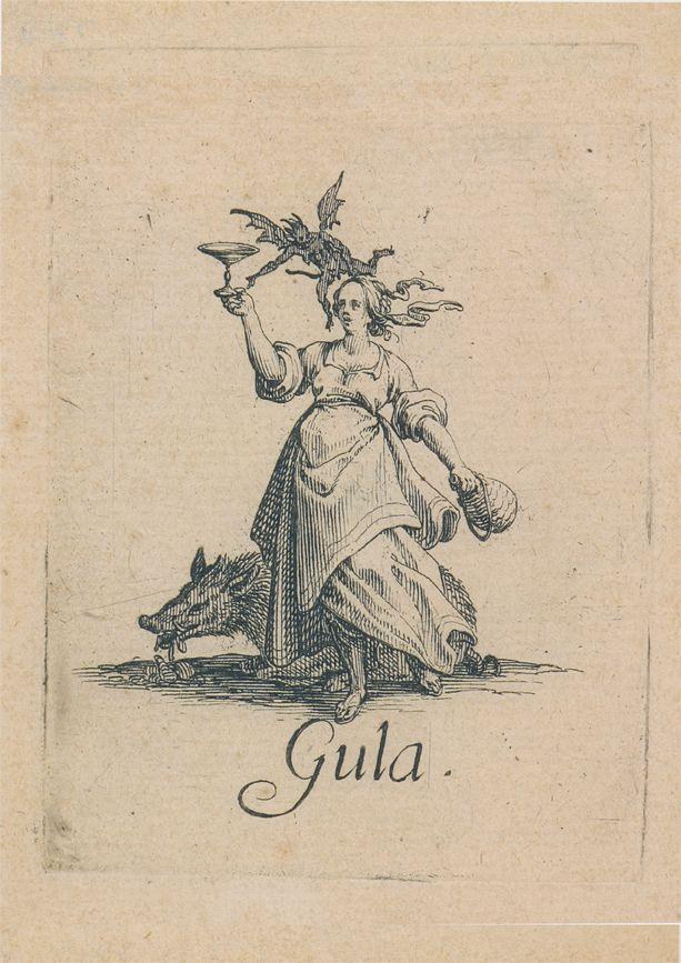 Jacques Callot - Seven Sins - Gluttony