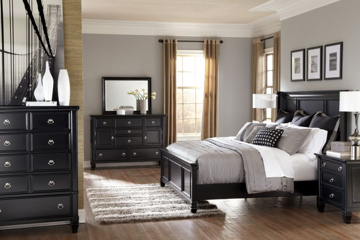 Ashley Furniture Black Bedroom Set For more pictures and design ideas, please visit my blog http://pesonashop.com