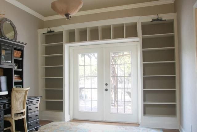I love this idea for a boring entryway! Especially in a tiny house, the entryway can mean so much lost space. These IKEA bookshelves turned into entryway frames spruce it up while also adding much needed storage!  - Nessa