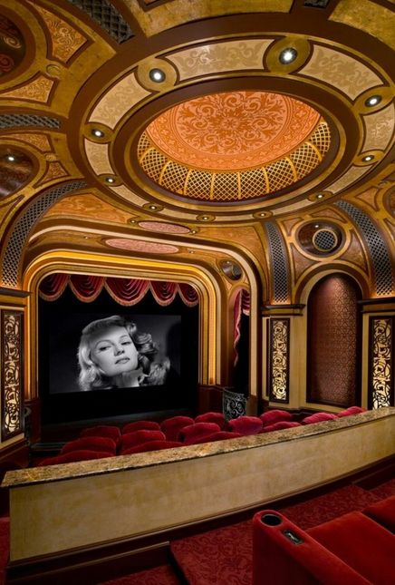Home Theater molded in the image of the glory days of Hollywood...
