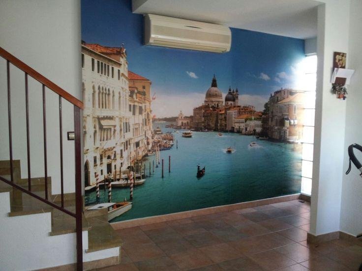 Fotomurales de Venecia, impresionante resultado de uno de nuestros clientes: http://www.tusmurales.com/blog-fotomurales-baratos/64-fotomurales-pared-146