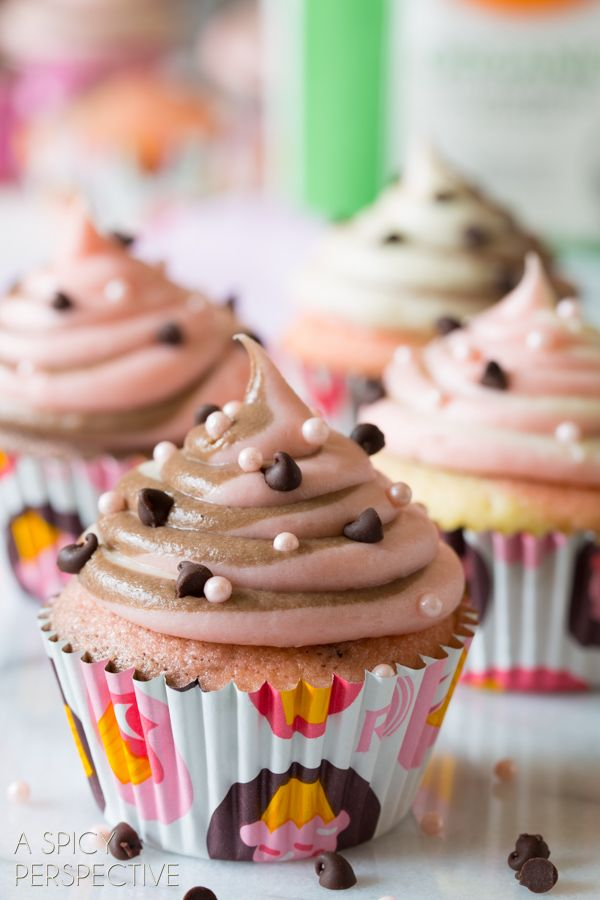 Easy Neapolitan Cupcakes 190 best Cupcakes images