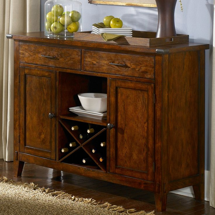 Liberty Furniture Brady Server from hayneedlecom
