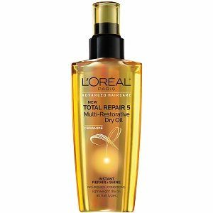 Amazon.com: LOreal Total Repair 5 Multi-Restorative Oil 3.4 FL OZ: Beauty