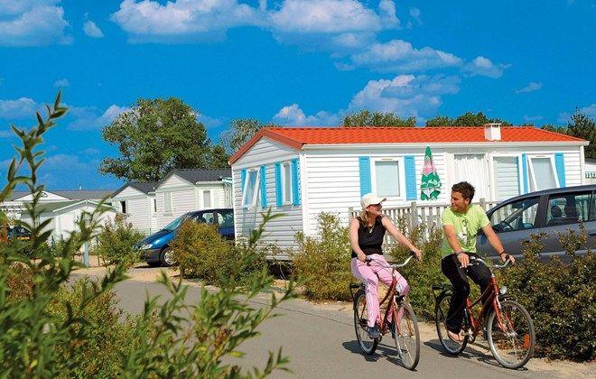 Mobil homes Domaine résidentiel de plein air Odalys L'Etang de Besse - Pays de…