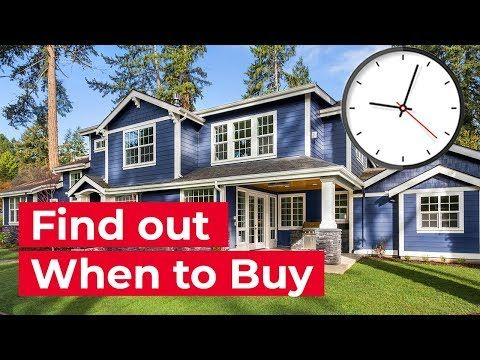When Is The Best Time To Buy A House Youtube Home Buying