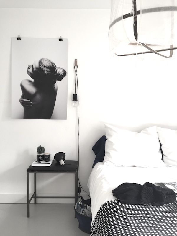 GIVEAWAY | A white bedroom with Dixxius bedlinen