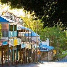 Bangalow Streetscape
