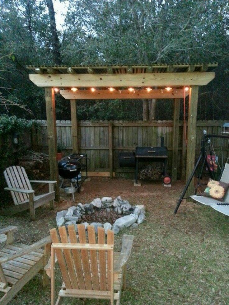 30 Great Outdoor DIY Project Grill gazebo, Outdoor grill