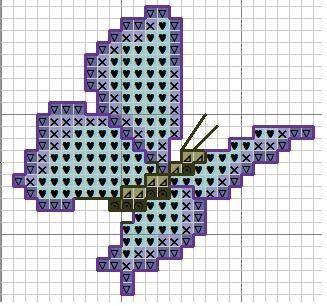 """Схемы для вышивки - """"...бабочки...""""!   26 фотографий"""