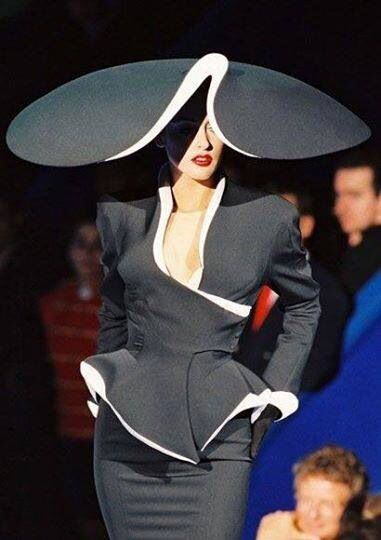 Philip Treacy for Thierry Mugler 2014